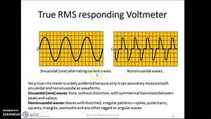 True Rms Responding Voltmeter
