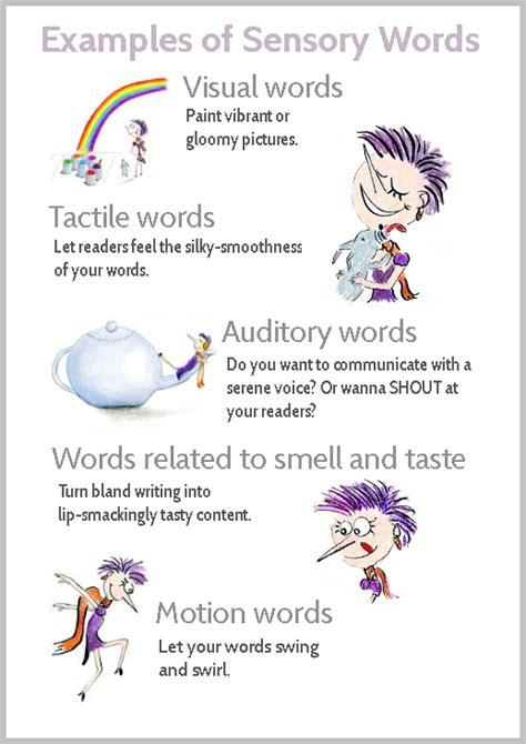 magic  sensory words   list    phrases