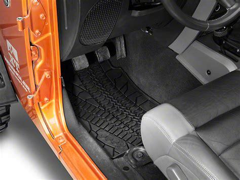 Jeep Wrangler Floor Mats by Mopar Wrangler Slush All Weather Front Floor Mats W Jeep