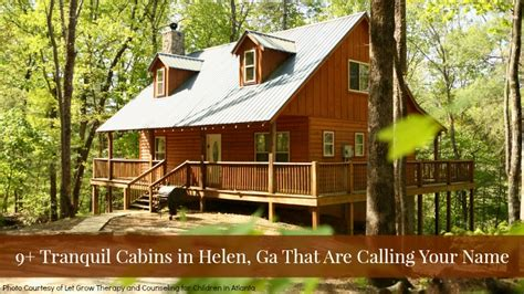 cabins in helen 25 blissful cabins in helen ga that are calling your name