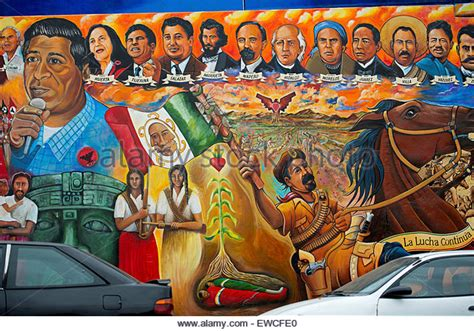 chicano park murals targeted as chicano mural stock photos chicano mural stock images