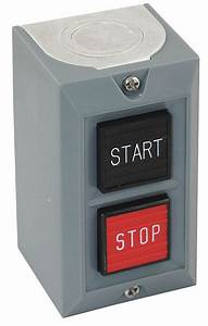 Dayton Push Button Control Station  1no  1nc Contact Form