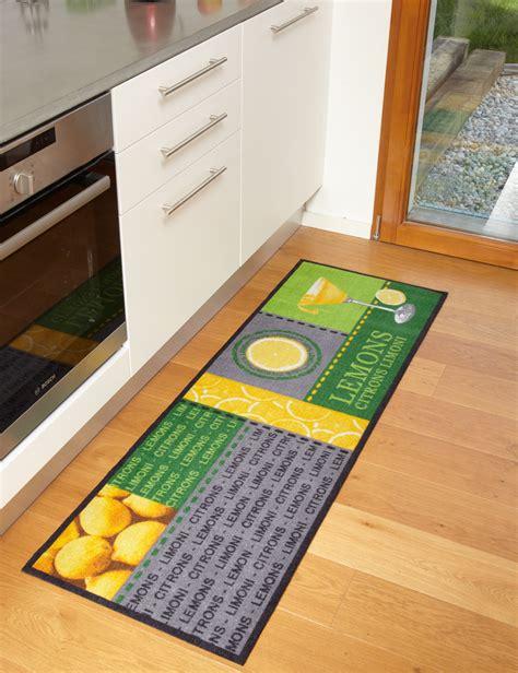jeux de cuisine de tapis de cuisine lemons moderne et de qualité