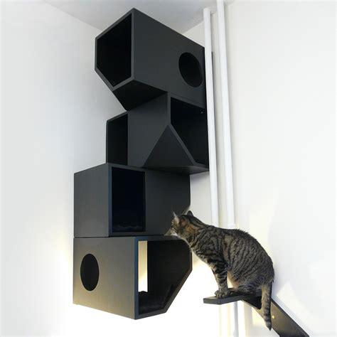 modern cat house catissa modern cat furniture by mojorno