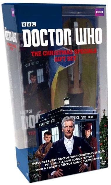 Barnes And Noble Dvd by Doctor Who Specials Gift Set 883929525089