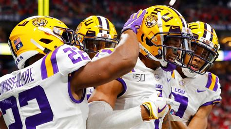 College Football Playoff tracker - LSU stakes its claim to ...