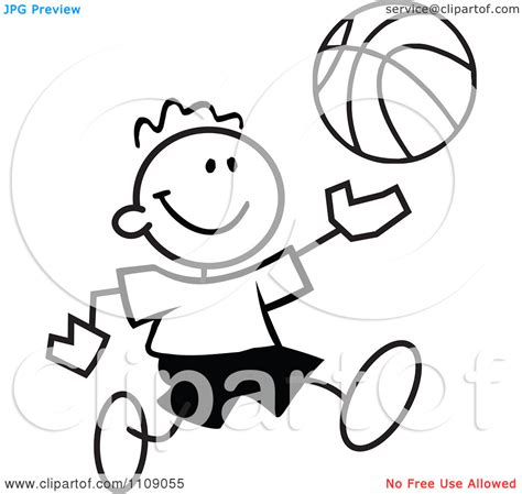 boys basketball clipart black and white basketball player clipart black and white clipart panda