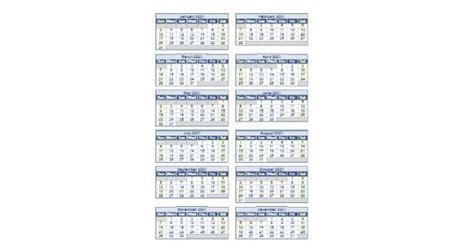 blank template  full year calendar excel  calendar