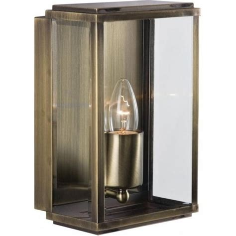 searchlight 8204ab 1 light modern outdoor wall light