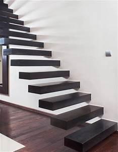 Treppenstufen An Der Wand Befestigen : design treppe treppen schwebende stufen kragarmtreppen ~ Michelbontemps.com Haus und Dekorationen