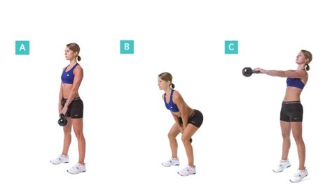 Kettle Swing Exercise by The Best Workout The Kettlebell Swing Epic Self