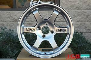 Rays Volk Racing TE37 Wheels 15X8 4X100 +35 Offset Mercury ...