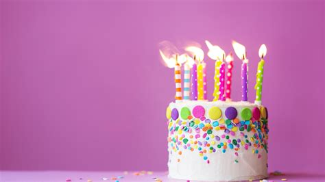 Wallpaper Of Birthday Card by Wallpaper Birthday Cake Candles Celebrations 607