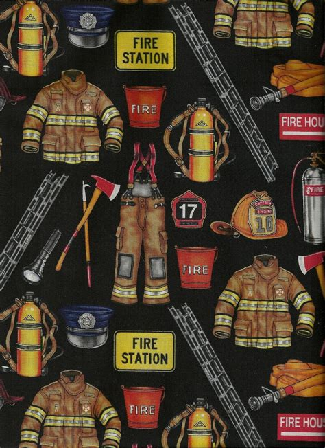 firefighter gear turnout background custom zoom kauman robert