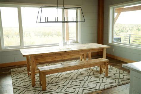 ana white beginner farm table  tools  lumber