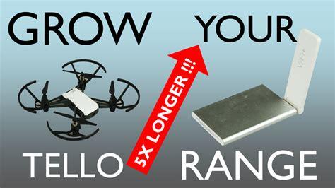 dji tello range extended   xiaomi mi wifi extender