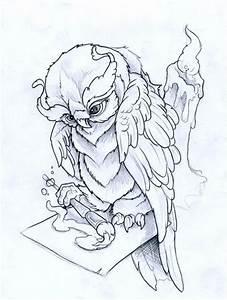 Painting Owl by JoshDixArt on DeviantArt
