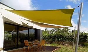 Voile D Ombrage Australienne : fabriquer voile d ombrage voile d ombrage cdiscount exoteck ~ Melissatoandfro.com Idées de Décoration
