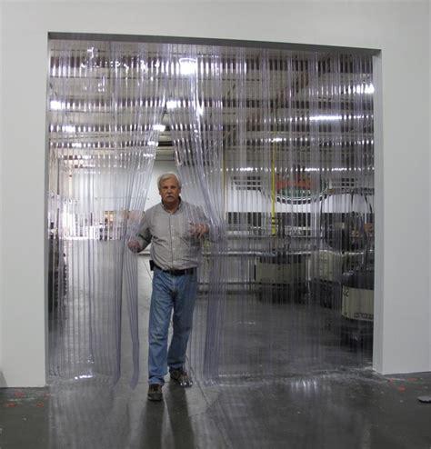 ribbed curtain doors scratch guard pvc