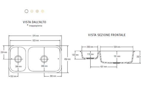 Sink Model by Lavello Doppio 873 Tecnomobili