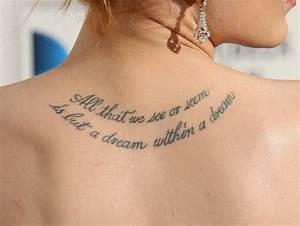 Beautiful Lower Back Tattoos for Women