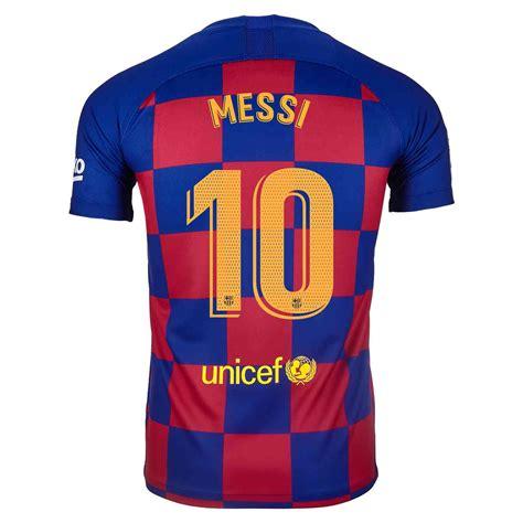 201920 Kids Nike Lionel Messi Barcelona Home Jersey
