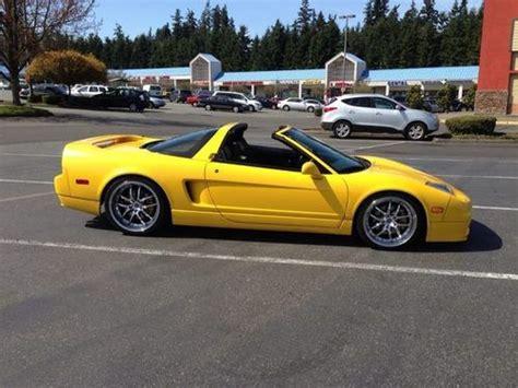 Find Used 2003 Acura Nsxt 6 Speed, Targa, Yellowblack