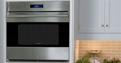 """Wolf SO30TE/S/TH   30"""" Built In Single Oven   E Series"""