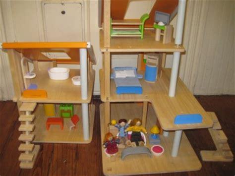 plan toys dollhouse furniture sale plan toys chalet wooden dollhouse furniture dolls