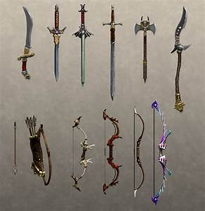 Melee Weapons by Hazzard65 on DeviantArt