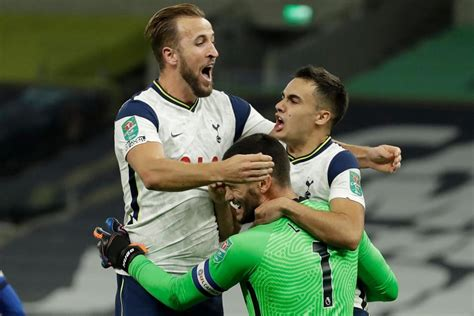 Tottenham beat Chelsea in penalty shootout after Carabao ...