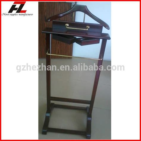 bureau valet high quality solid wood valet stands coat stand for