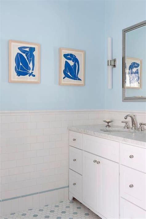 Blue Bathroom Paint Colors   Transitional   Bathroom