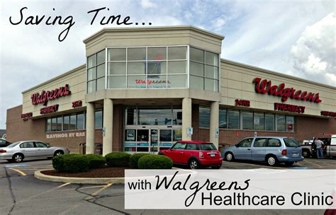Saving Time With Walgreens Healthcare Clinic