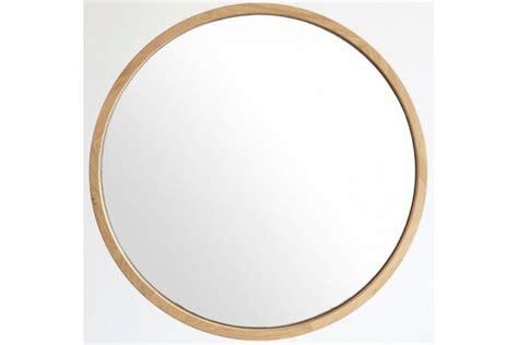 siege de table miroir rond en chêne massif diamètre 50 ou 80 cm la