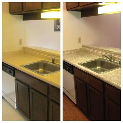 budget kitchen makeover diy faux marble countertops 60 best images about kitchen makeovers on pinterest
