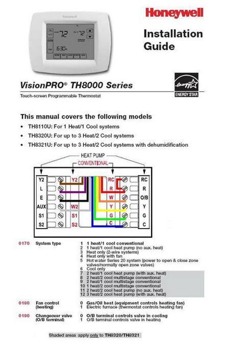 wiring thermostat honeywell   furnace heat pump trane xexe combo