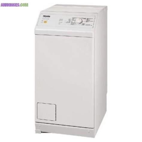 neuf lave linge top miele novotronic w150s