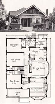 Surprisingly Vintage House Plans by 17 Best Ideas About Bungalow Floor Plans On