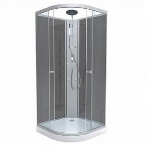 cabine de douche achat vente cabine de douche pas cher With carrelage adhesif salle de bain avec ampoule led pas cher e27