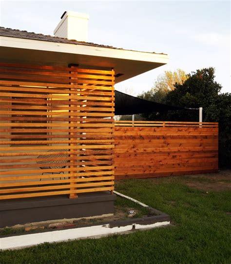 fence screens  horizontal fence  pinterest