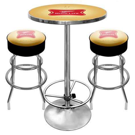 miller high bar stools table set