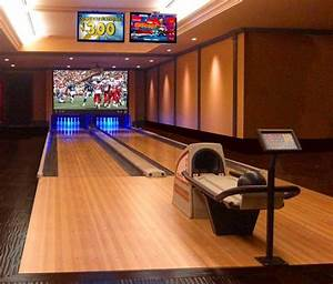 bowling alley for your home trying to balance the