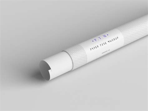 Dear visitor, you went to the site as unregistered user. Paper tube mock up | Free PSD File