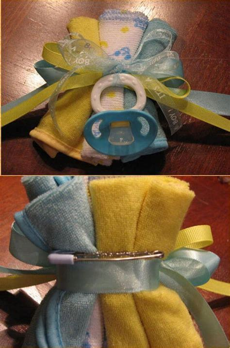 How To Prepare A Baby Shower - how to make the cutest baby shower corsage