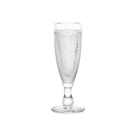 flute vetro sfaccettato coincasa