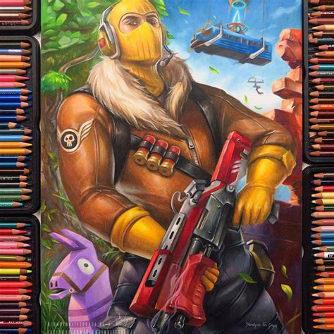 fantastic world  fortnite art odd nugget