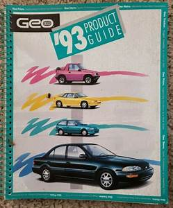 1993 Geo Product Guide