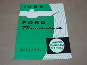 Blt Wd59 Wiring Diagram 1959 Thunderbird For 1959 Ford