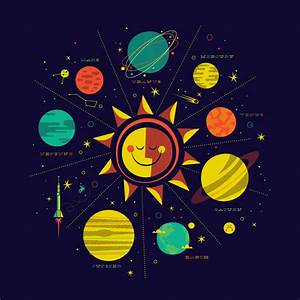 Wonderful graphic of the Solar System [slide].